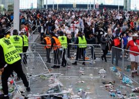 Euro 2020: Police were 'held back' from confronting Wembley chaos, cop says
