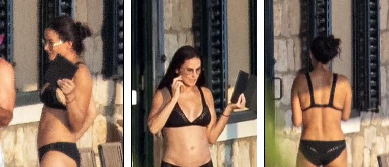 Demi Moore, 58, showcases her incredible bikini body