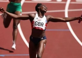 Never any doubt' Team GB smash national record in women's 4x100m relay heat