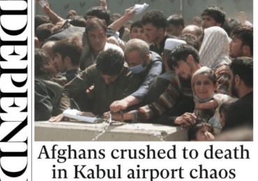 The Independent - Afghans crushed to death in Kabul airport chaos