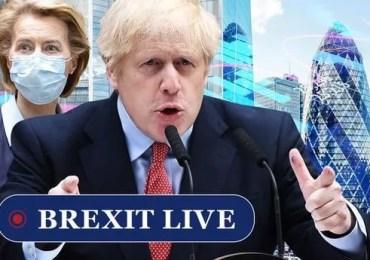 Boris handed three-point plan to cement UK economy's lead over EU