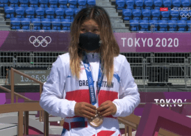 Tokyo Olympics: 13-year-old Sky Brown wins Olympic skateboarding bronze