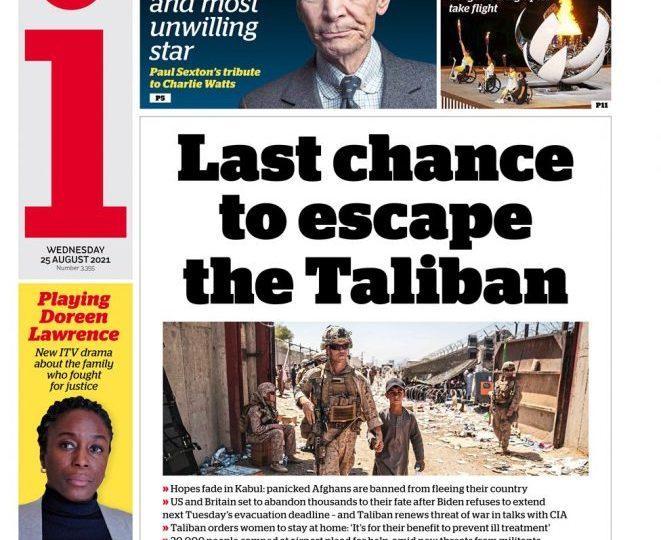 The i - 'Last chance to escape the Taliban'