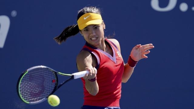 Emma Raducanu into US Open quarter-finals