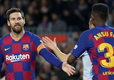 Barcelona: Ansu Fati given No. 10 shirt after Lionel Messi exit