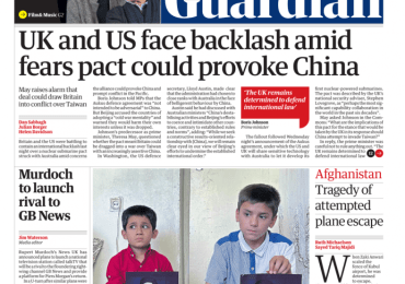 The Guardian - 'UK and US face backlash'