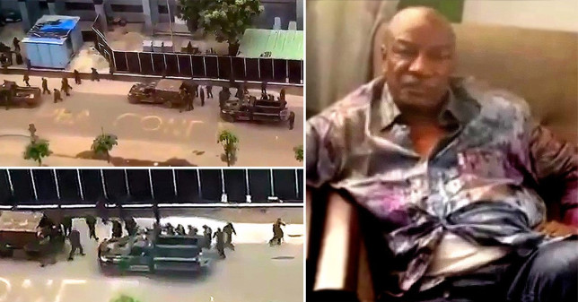 President of Guinea 'captured by army in attempted coup' amid 'heavy gunfire'