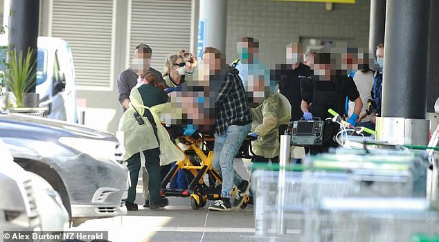 Auckland terror attack: People stabbed at supermarket by 'lunatic' knifeman