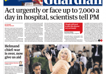 The Guardian - 'Act quick or 7K a day in hospital'