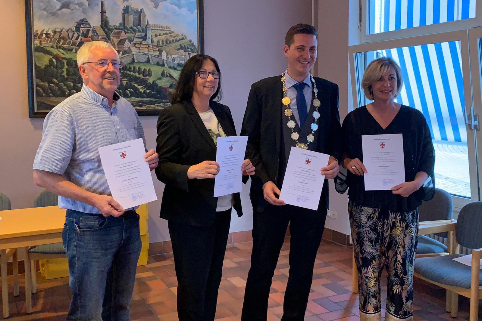 Der neue Stadtrat hat sich am Freitag, 28.06.2019 konstituiert.