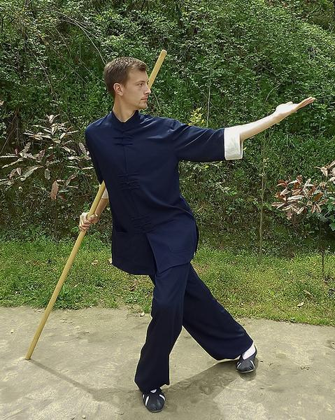 MW Designer Taiji Uniform Blue