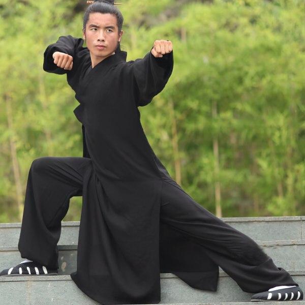 Traditional Daoist Wudang Uniform Black