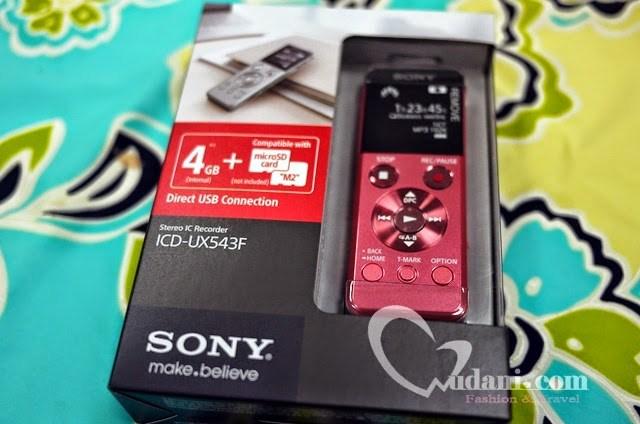【生活】日文學習小記錄 & SONY UX543F錄音筆開箱