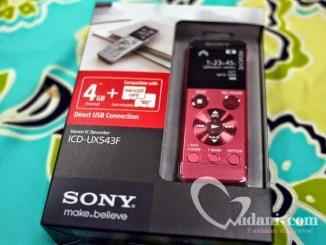 【生活】日文學習小記錄 & SONY UX543F錄音筆開箱 @吳大妮。Annie