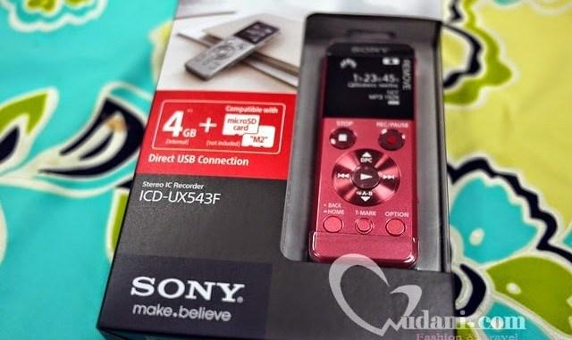 【生活】日文學習小記錄 & SONY UX543F錄音筆開箱 @吳大妮