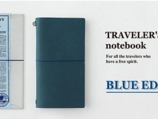 【開箱】TRAVELER'S notebook 旅人筆記本-經典限定藍 @吳大妮。Annie