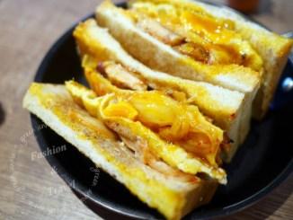【三重碳烤吐司】餓店碳烤土司~豬排獨家醃製,厚實又美味~臨近捷運三重國小站 @吳大妮。Annie