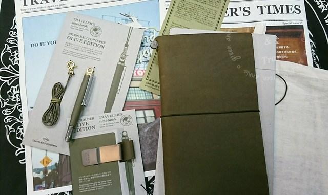 TN,2017經典限定Traveler's Notebook-橄欖綠OLIVE EDITION @吳大妮。Annie