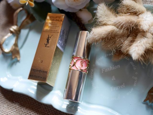 YSL唇膏,情挑誘吻雙色蜜唇膏#3 & 夏日限定#13赤裸特區~十分滋潤又帶水蜜桃香氣