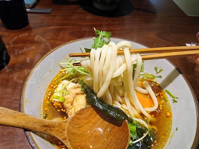 穗科手打烏龍麵,素食的爽口美好滋味~讓人一吃就愛上