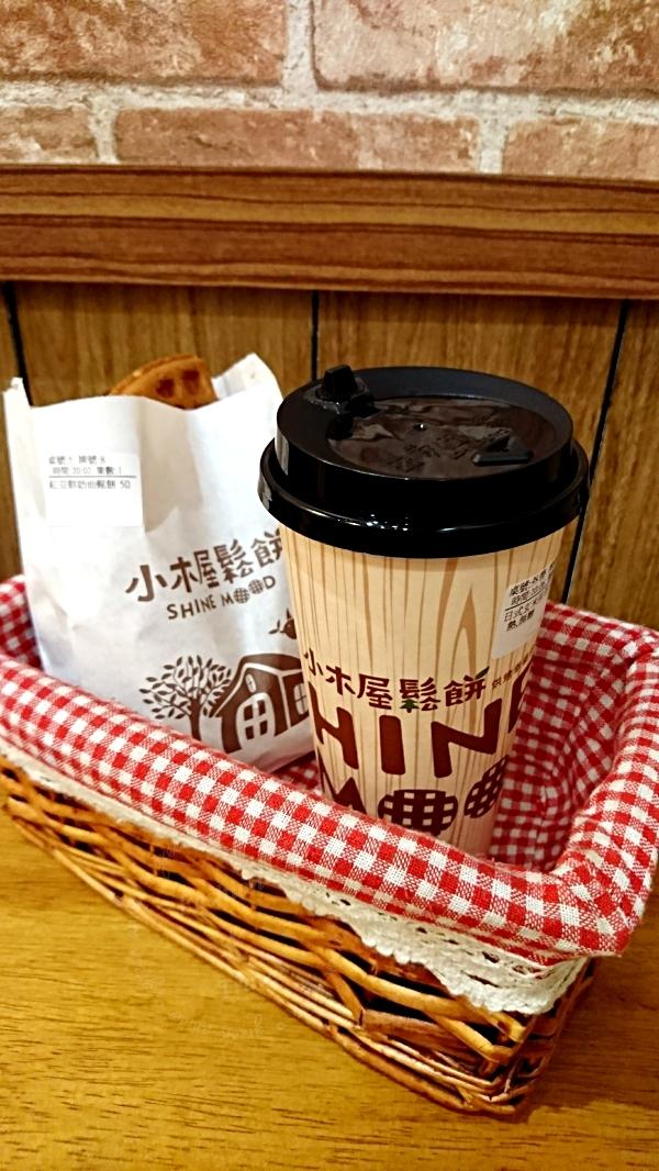 小木屋鬆餅,蘆洲家樂福也可以吃到台大有名美味鬆餅(已停業)