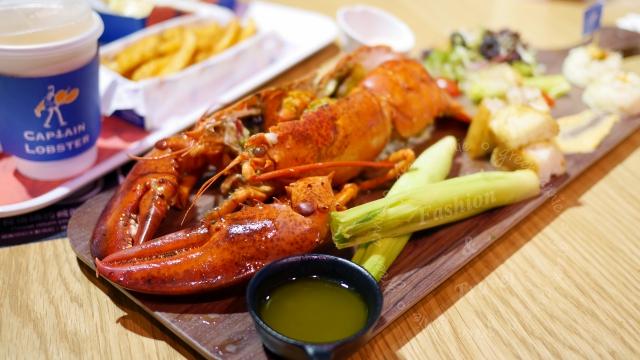 Captain Lobster龍蝦堡,包入整隻龍蝦肉,還可吃到新鮮龍蝦@信義區A11