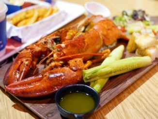 Captain Lobster龍蝦堡,包入整隻龍蝦肉,還可吃到新鮮龍蝦@信義區A11 @吳大妮。Annie