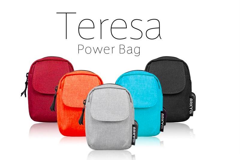 泰瑞莎USB外接充電包 Teresa Power Bag