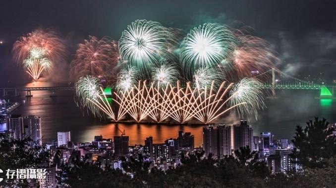 存摺攝影-2017釜山煙火節
