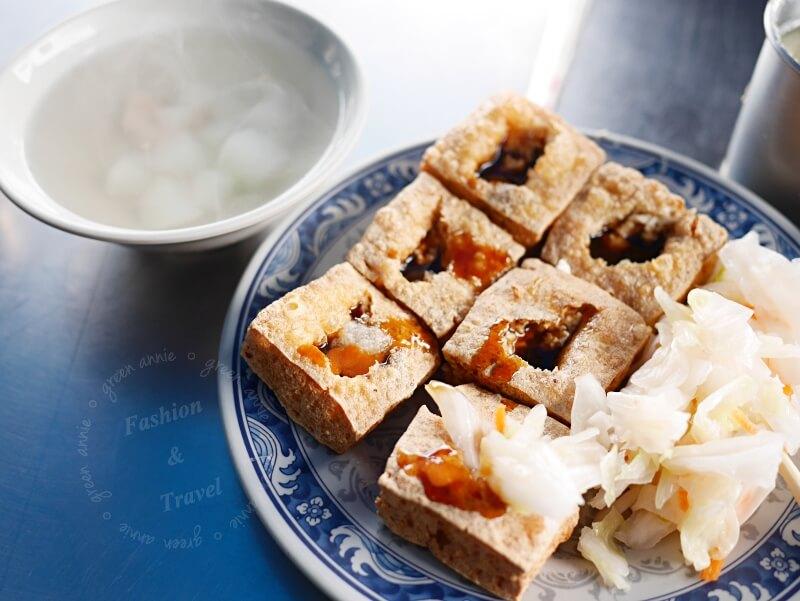 台中超好吃臭豆腐-林家瑞穗臭豆腐~讓人一吃就愛上,還有免費湯可以喝