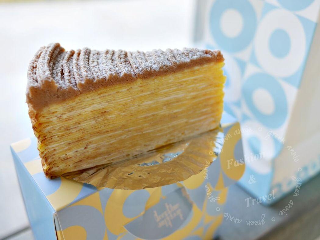 台南美食-深藍咖啡館-千層蛋糕