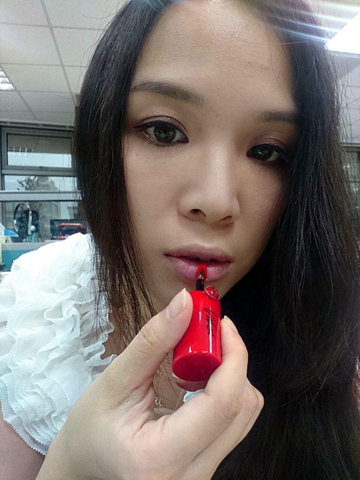 延禧攻略-咬唇妝