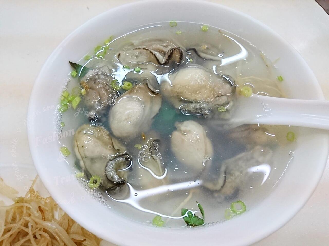 三重美食,明宏蚵仁湯四十年老店,蚵仔大顆又鮮甜