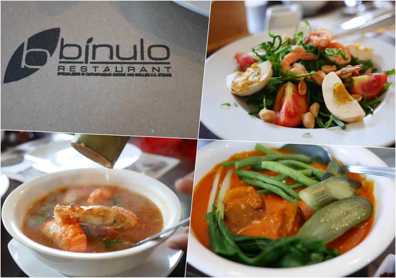 菲律賓克拉克美食,Binulo Restaurant吃的到菲律賓道地美食,用餐環境乾淨明亮