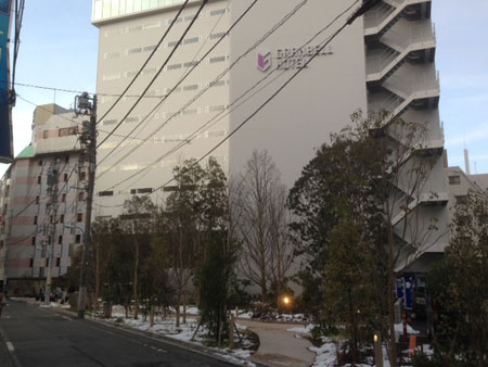 東京新宿住宿推薦,GRRNBELL HOTEL 新宿格蘭貝爾酒店,交通便利適合逛街