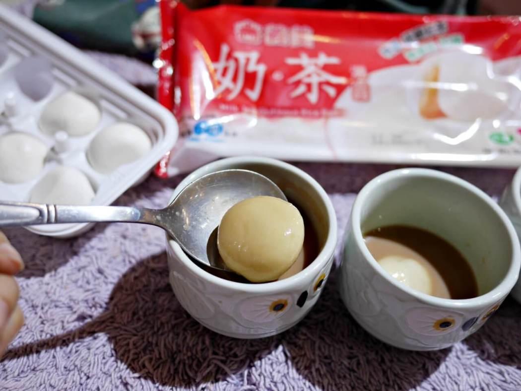 義美奶茶湯圓