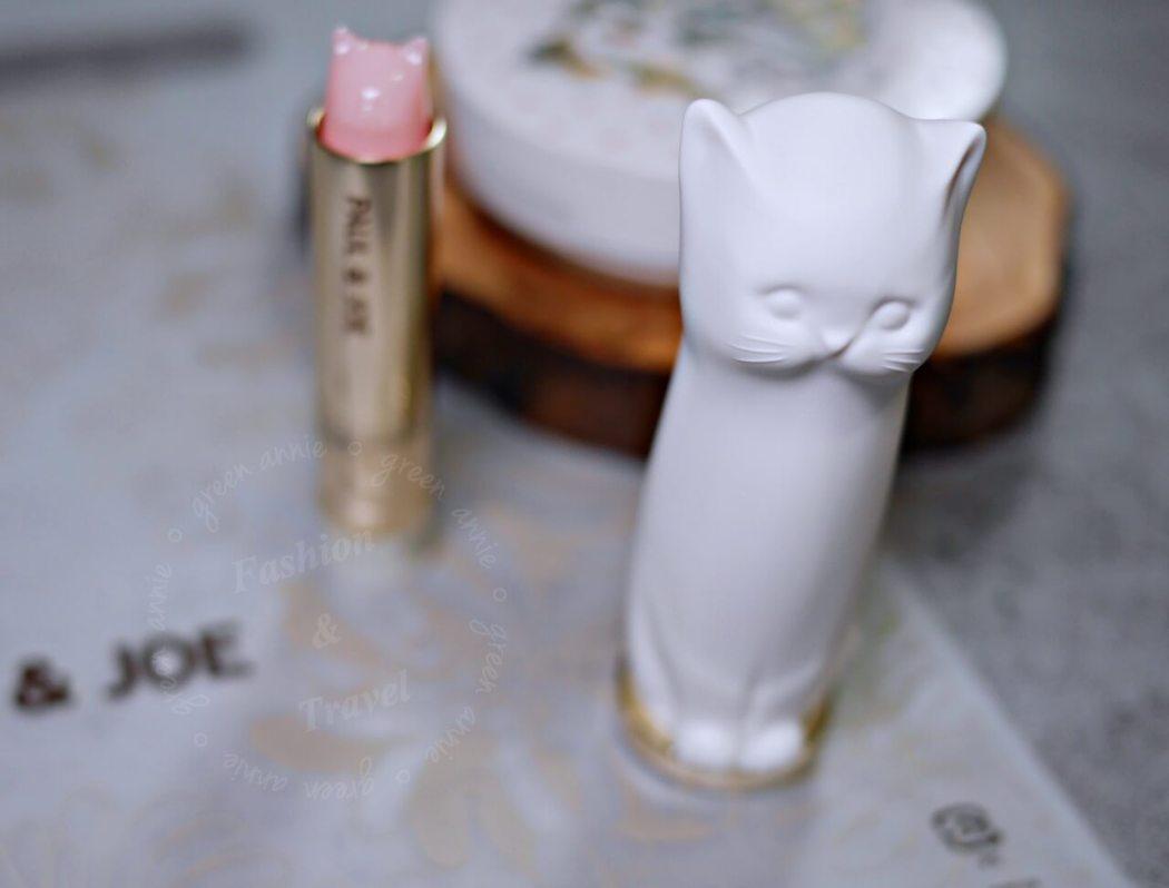 PAUL&JOE貓咪頭造型護唇膏