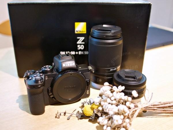 Nikon APS-C 無反微單 Z50 開賣了~kit鏡雙鏡組實物開箱 @吳大妮。Annie