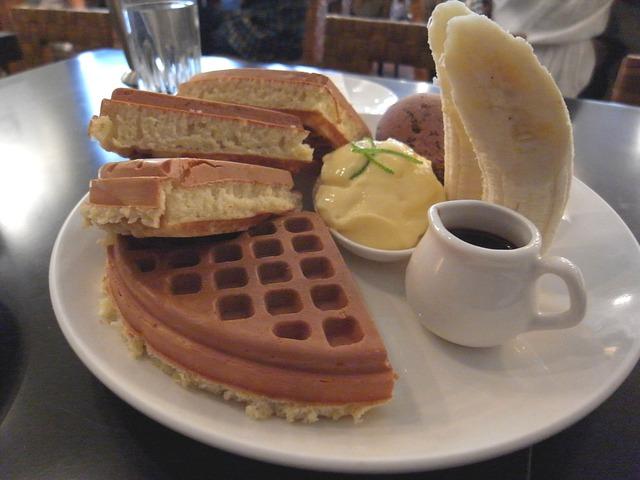 【安妮愛吃】咖啡弄美味鬆餅