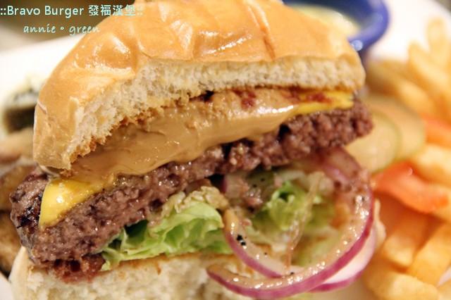【台北美食】發福漢堡Bravo Burger@市民店 @吳大妮。Annie
