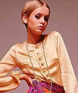 六○年代……代表人物Twiggy、時代背景介紹……..彩妝示範 @吳大妮。Annie