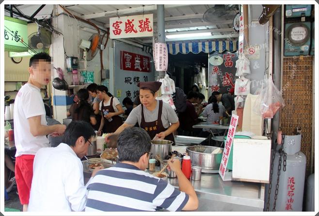 台南美食,富盛號碗粿超人氣又超美味