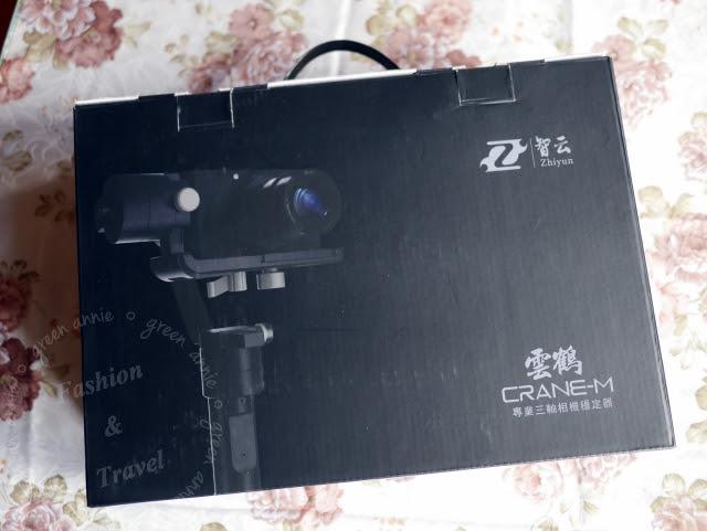 【3C】智雲三軸穩定器~雲鶴CRANE-M~實物開箱記錄(Zhiyun for Digital Camera) @吳大妮。Annie