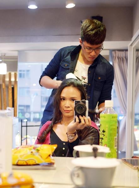 Re Born hair salon,讓大妮擁有自然又好整理的浪漫捲髮~【髮型】 @吳大妮。Annie