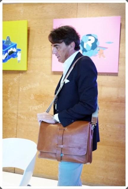 【活動】義大利頂級皮革PIQUADRO~~與創辦人見面會 @吳大妮。Annie