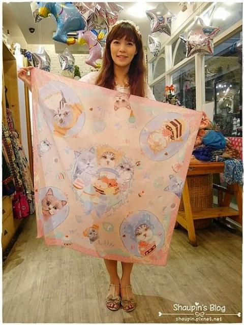 泰國必買設計師品牌 Kiss me doll,觸感超好的泰絲,一年四季都實用 @吳大妮。Annie