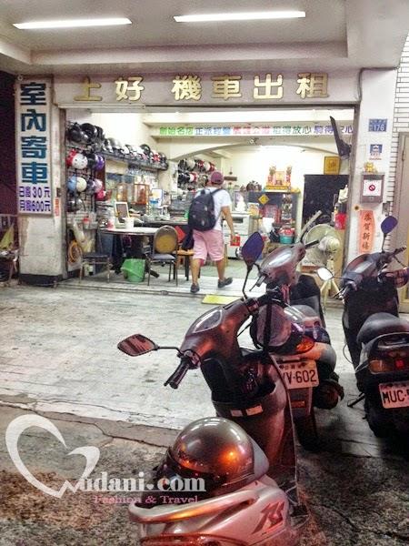【台南租車】台南火車站後站~上好機車出租