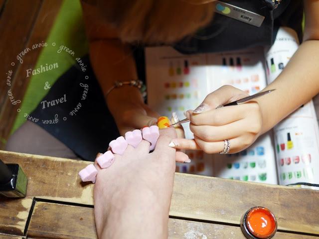 【美甲】夏季童趣款凝膠指甲~潔月兒 @吳大妮。Annie