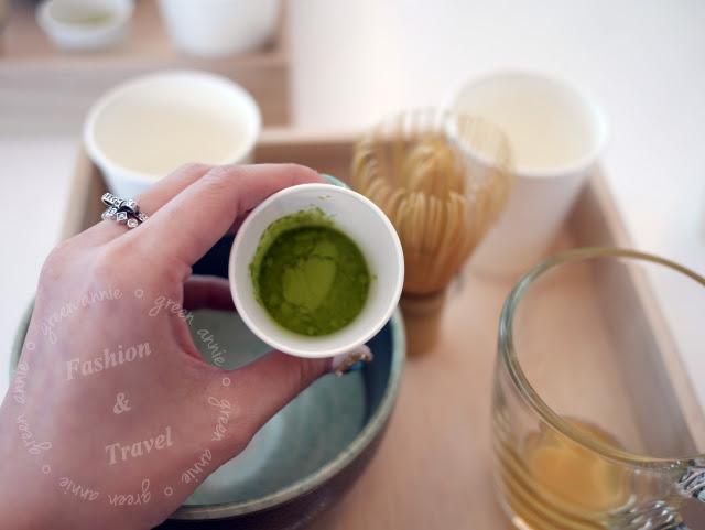 TSUJIRI辻利茶舗~抹茶教室初體驗~自己動手刷抹茶好玩又更好喝!! @吳大妮。Annie