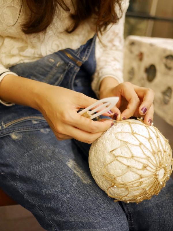 【手作溫度】Dreams Deliver 夢想熱氣球 X星巴克- Peter的手工熱氣球~享受咖啡香氣與手作樂趣 @吳大妮。Annie